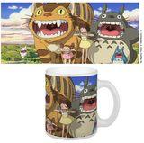 Studio Ghibli Mug (Nekobus & Totoro)
