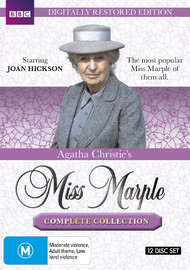 Agatha Christie's: Miss Marple - The Complete Collection (Restored Edition) on DVD