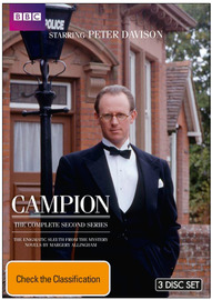 Campion - The Complete 2nd Series (3 Disc Set) on DVD