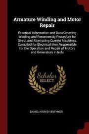 Armature Winding and Motor Repair by Daniel Harvey Braymer image