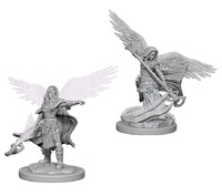 D&D Nolzur's Marvelous: Unpainted Miniatures - Aasimar Female Wizard