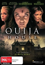 Ouija House on DVD