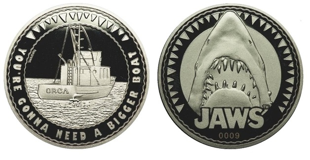 Jaws: Collectible Coin - You're Gonna Need A Bigger Boat