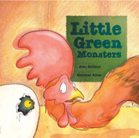 Little Green Monsters by Alec Sillifant image