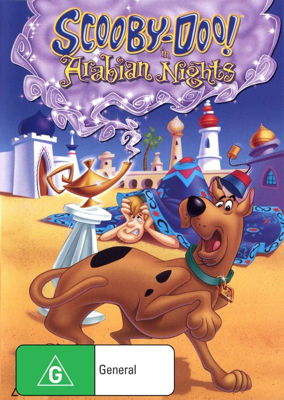 Scooby Doo! In Arabian Nights on DVD