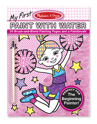 Melissa & Doug: My First Paint with Water Art Pad Pink