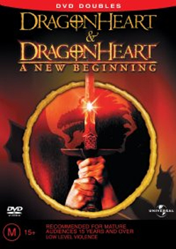 DragonHeart & DragonHeart - A New Beginning (DVD Doubles) (2 Disc Set) on DVD image