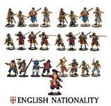 Blood & Plunder: English Nationality Starter Set