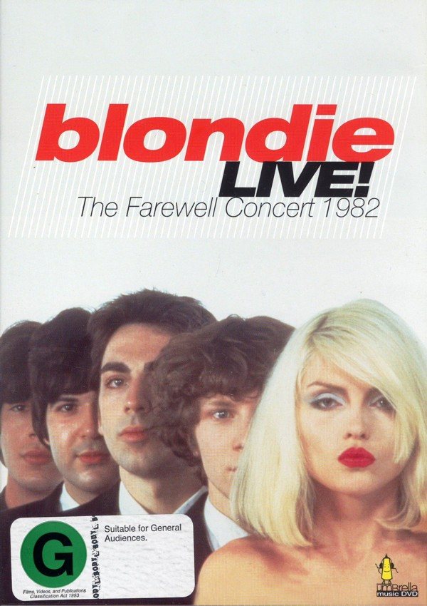 Blondie - Live!: The Farewell Concert 1982 on DVD image