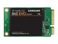 1TB Samsung 860 EVO V-NAND mSATA SSD SATA III 6GB/s, R/W(Max) 550MB/s/520MB/s