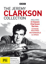 The Jeremy Clarkson Collection (Extreme Machines / Motorworld / Speed) on DVD