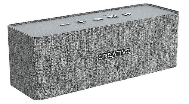 Creative Nuno Designer Cloth Bluetooth Speaker - Grey