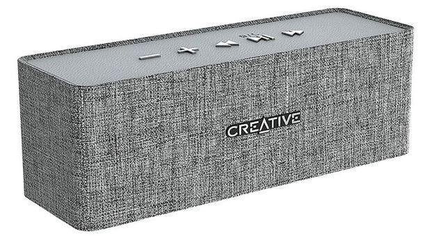 Creative Nuno Designer Cloth Bluetooth Speaker - Grey