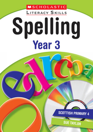 Spelling: Year 3 by Sue Taylor image