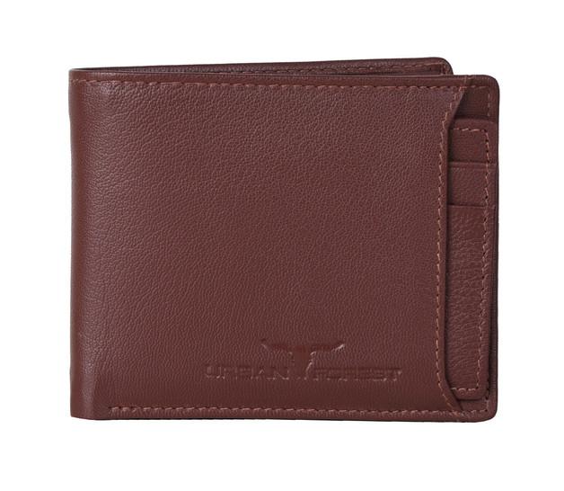 Urban Forest: Sidka Leather Wallet w/Card Holder - Serena Brown