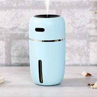 Portable LED Mini USB Air Humidifier Purifier - Blue