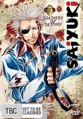 Saiyuki - Vol 8 on DVD