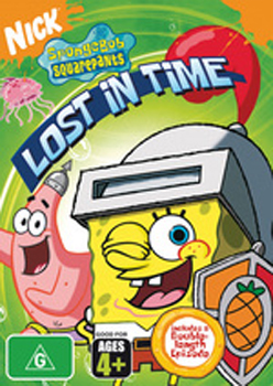 SpongeBob SquarePants - Lost in Time on DVD image