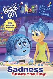 Disney/Pixar Inside Out: Sadness Saves the Day! by Tracey West image
