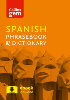 Collins Spanish Phrasebook and Dictionary Gem Edition by Collins Dictionaries image