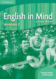 English in Mind Level 2 Workbook by Herbert Puchta image