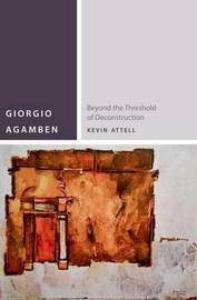 Giorgio Agamben by Kevin Attell