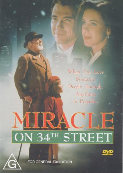 Miracle on 34th Street on DVD image