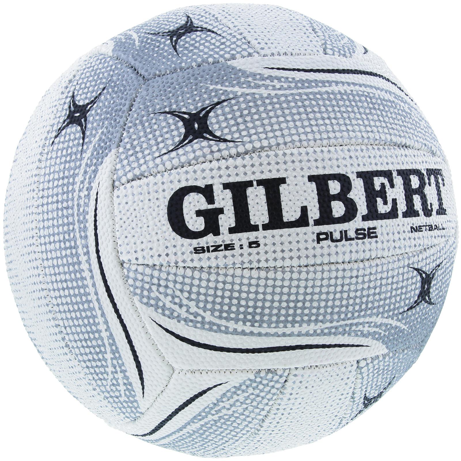Gilbert Pulse Netball-White (Size 5) image