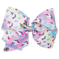 JoJo Siwa: Deluxe Large Unicorn Bow - Faded Rainbow (Many Unicorns)