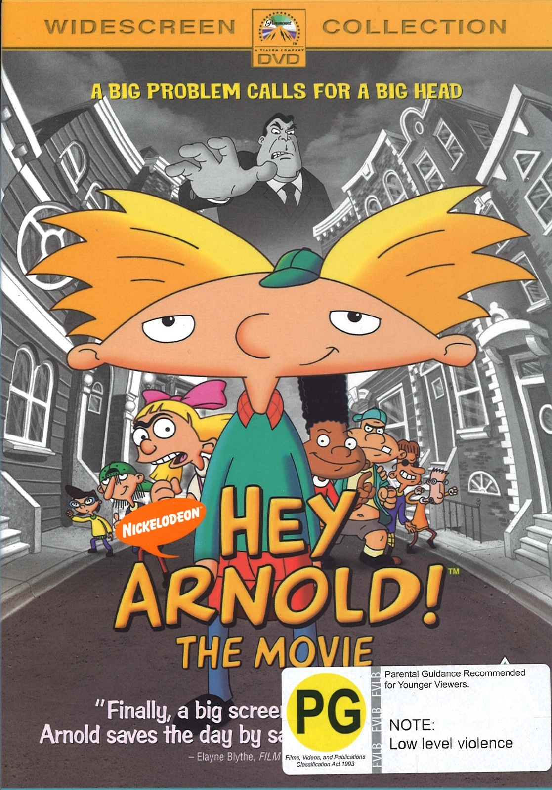 Hey Arnold! The Movie on DVD image