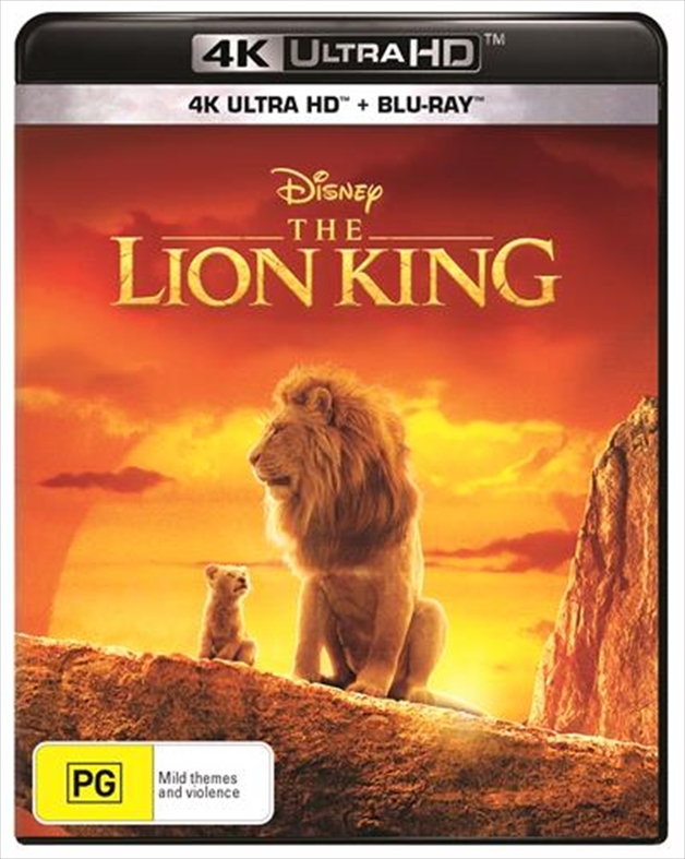 The Lion King (2019) on UHD Blu-ray