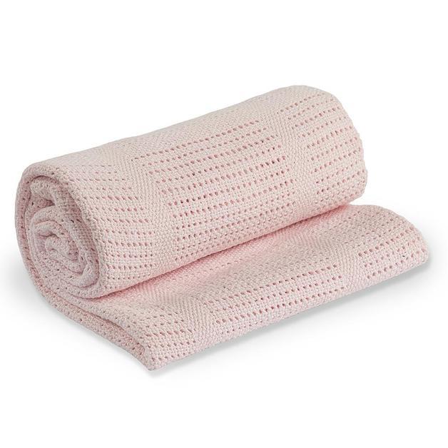 Lulujo: Cellular Blanket - Pink