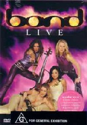 Bond - Live At The Royal Albert Hall on DVD