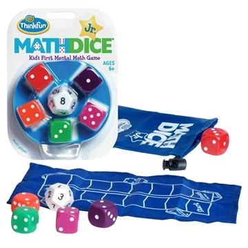 Thinkfun - Math Dice Junior Game image