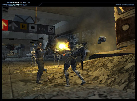 Terminator 3: The Redemption for PlayStation 2 image