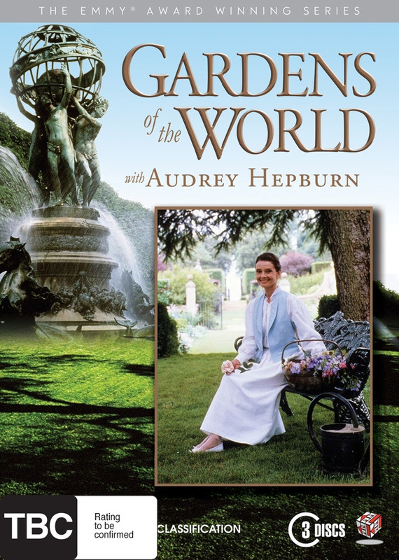 Gardens of the World with Audrey Hepburn (3 Disc Set) DVD