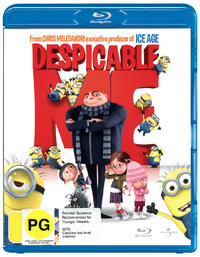 Despicable Me on Blu-ray