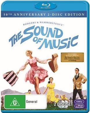 Sound Of Music: 50th Anniversary on Blu-ray
