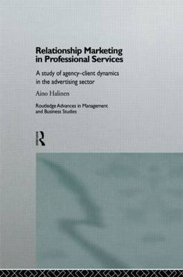 Relationship Marketing in Professional Services by Aino Halinen image