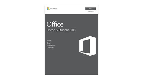 98bde6c7c Microsoft Office Home   Student 2016 for Mac (Retail Pack - No Media ...