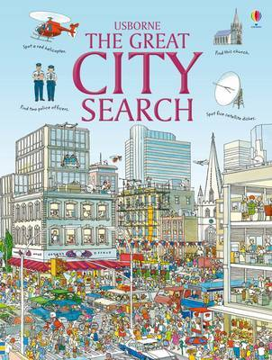 The Great City Search by Rosie Heywood