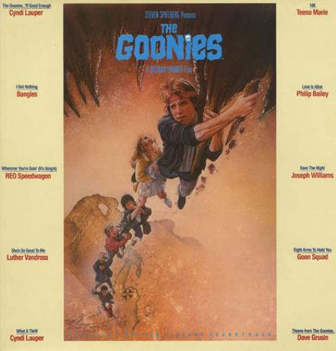 The Goonies Original Soundtrack (LP) by Soundtrack / Various image