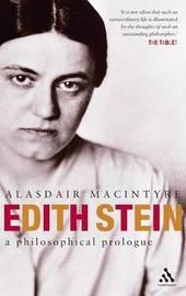 Edith Stein by Alasdair MacIntyre image