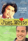Just Write DVD
