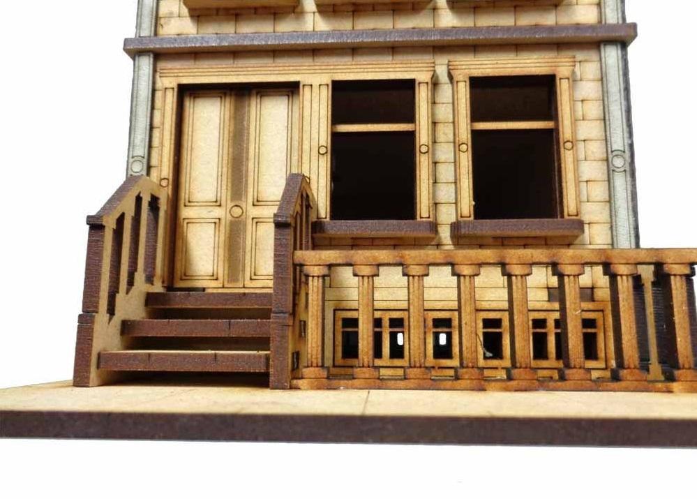 TTCombat: Tabletop Scenics – Brownstone A image