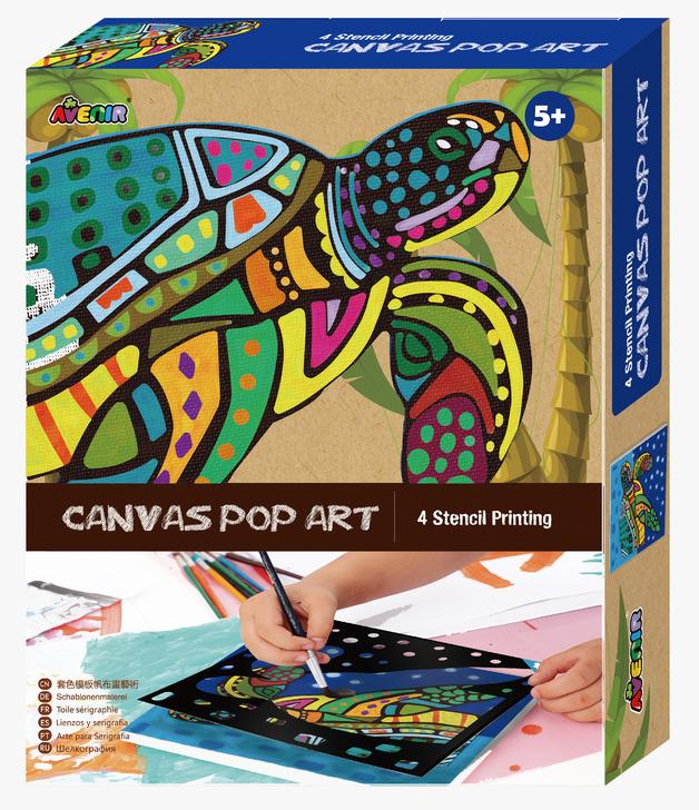 Avenir: Canvas Pop Art Kit - Turtle