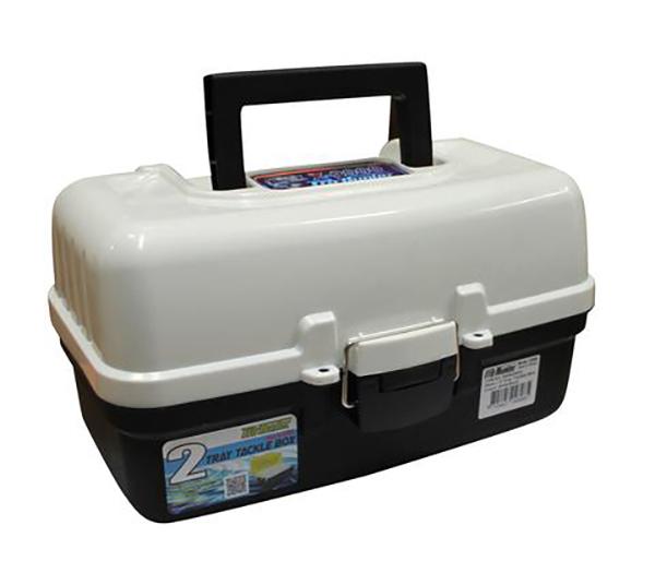 Pro Hunter Two Tray Tackle Box - White image