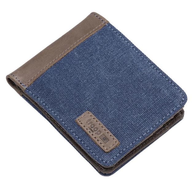 Troop London: Idaho Canvas Wallet - Blue