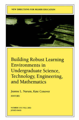 Building Robust Learning Environments in Undergraduate Science, Technology, Engineering, and Mathematics image
