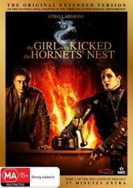 The Girl Who Kicked The Hornets' Nest - Extended Version on DVD image